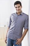 Attractive Man Posing Stock Image