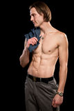Attractive Man Shirtless Stock Photos