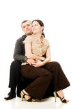 Attractive man and woman. Royalty Free Stock Photography