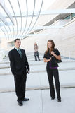 Attractive man and Woman Business Team Royalty Free Stock Images