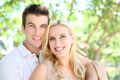 Attractive Man and Woman Couple Stock Photography