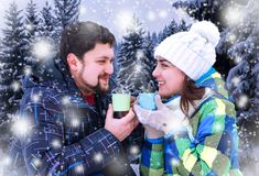 attractive man woman drinking coffee attractive men women drinking coffee background christmas landscape 106318413 The Best Website For Marriage