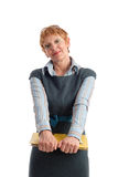 Attractive mature businesswoman Royalty Free Stock Photos