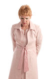 Attractive mature businesswoman looking worried Stock Photography