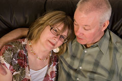 Attractive mature couple. Stock Photo