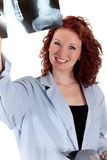 Attractive mature female doctor Stock Photo