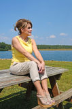 Attractive Mature Woman Stock Photography