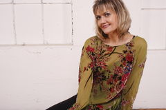 Attractive mature woman Royalty Free Stock Images