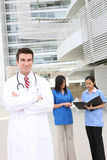 Attractive Medical Team Stock Photo
