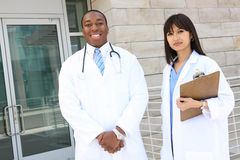 Attractive Medical Team Royalty Free Stock Photography
