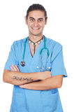 Attractive medicine student Royalty Free Stock Photography