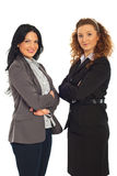 Attractive mid adult business women Stock Photo