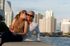 Attractive Middle Age Couple stock images