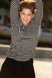 Attractive middle age woman Stock Image