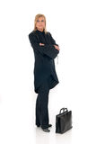 Attractive middle aged businesswoman Royalty Free Stock Photography
