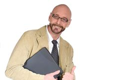 Attractive middle aged man Royalty Free Stock Image