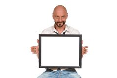Attractive middle aged man Royalty Free Stock Photo