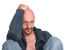 Attractive middle aged man Royalty Free Stock Photography