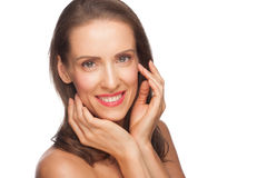 Attractive middle-aged woman Royalty Free Stock Photography