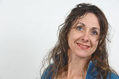Attractive middle-aged woman. Stock Photo