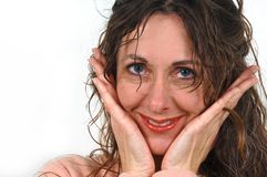 Attractive middle-aged woman. Stock Photography
