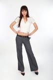 Attractive model posing Stock Photo