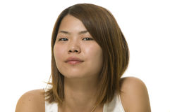 Attractive modern Asian woman Stock Image