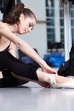 Attractive modern ballet dancer. Attractive woman - modern ballet dancer stock photos