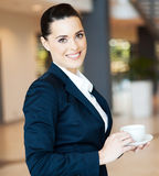 Attractive modern businesswoman Royalty Free Stock Photography