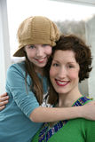 Attractive mother and Daughter Royalty Free Stock Image