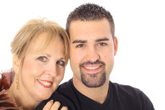 Attractive mother and son Royalty Free Stock Image