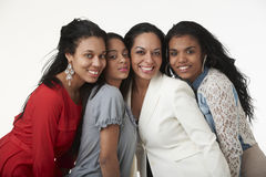 Mother and Teenage Daughters Stock Images