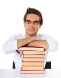 Attractive motivated student Stock Images