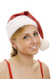 Attractive Mrs. Santa. Stock Photography