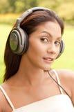 Attractive music listener Stock Photos