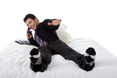 Attractive nepalese businessman Royalty Free Stock Photography