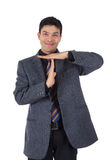 Attractive Nepalese businessman, time-out Royalty Free Stock Photo