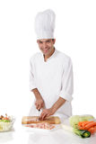Attractive nepalese chef male, meet Stock Photography