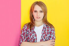 Attractive nice girl Royalty Free Stock Photography