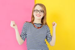 Attractive nice girl Royalty Free Stock Image