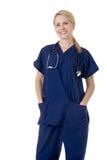 Attractive nurse Stock Photo