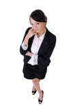 Attractive office lady Stock Photos