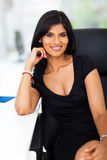 Attractive office worker Stock Images