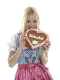 Attractive Oktoberfest Girl Stock Image