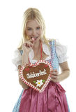 Attractive Oktoberfest Girl Stock Photos