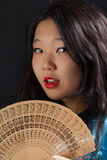 Attractive oriental girl Stock Photography