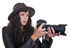 Attractive Photographer Stock Image
