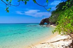 Attractive point in Andaman sea. Kao Khai,Ta Ru Tao national park,Sa Tun,Thailand Stock Images
