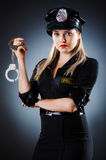 Attractive police Royalty Free Stock Photos