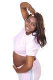 Attractive pregnant woman Stock Photo